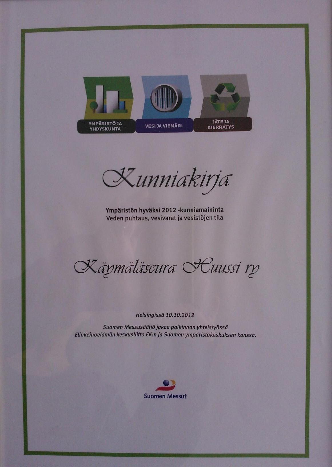 kunniakirja 2012